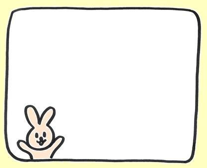 Usa chan memo color rabbit