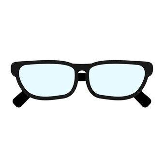 안경 (검정)