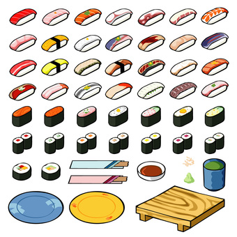 握把壽司卷壽司圖標1