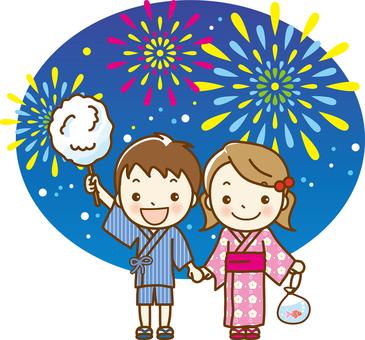 Summer Festival 01 Fireworks