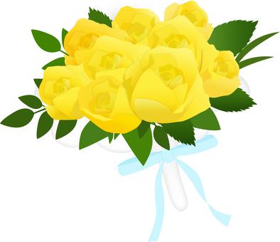 Flower of a bouquet