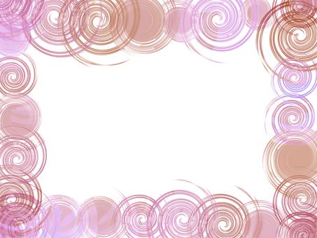 Swinging frame (pink)