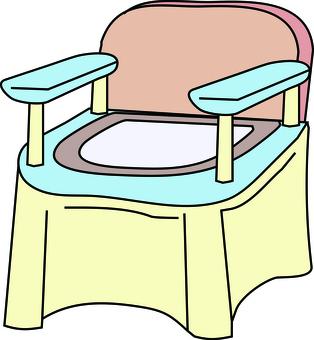 Nursing toilet