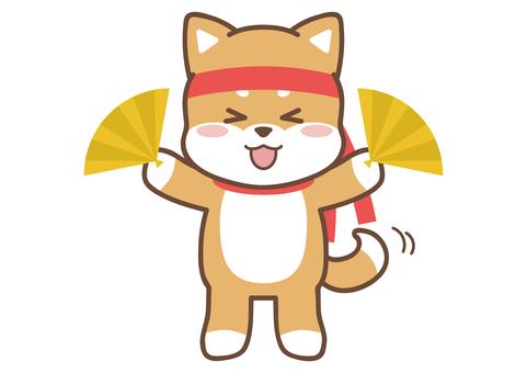 Shiba Inu _ brown _ cheering