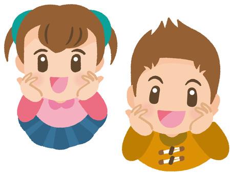 Children mini blur B