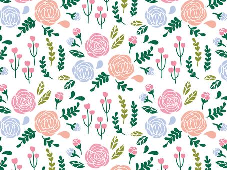 Flower stalk background