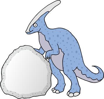 恐龍Parasaurorows