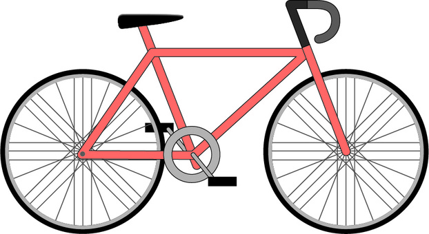 Bicycle cycling movement