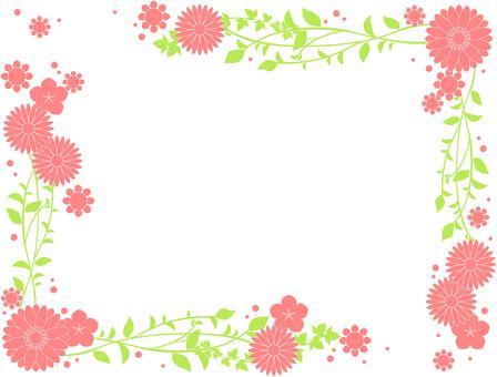 Flower frame 23