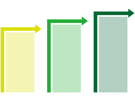 Chart (arrow / green)