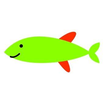 Green fish 4