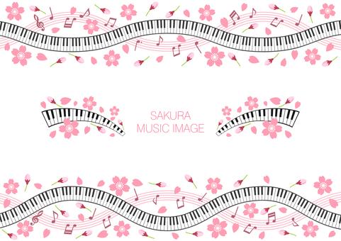 벚꽃의 음악 이미지