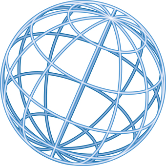 Image of earth wireframe