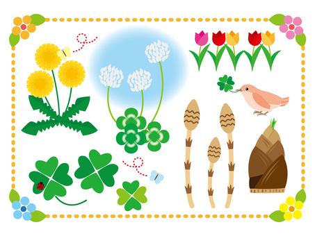 Spring Material 1 / Type g / uta