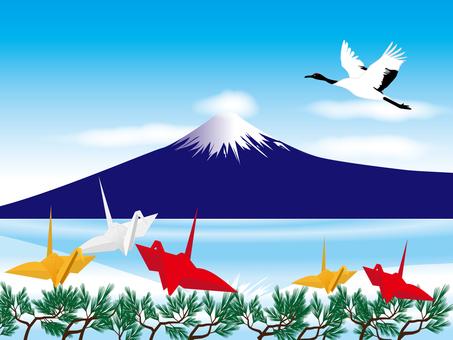 Fuji and Tsuru
