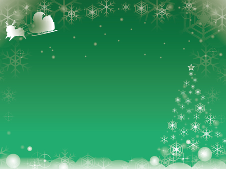 Santa Claus and Tree Background 4