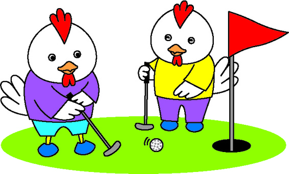 Chickens and Golf 3