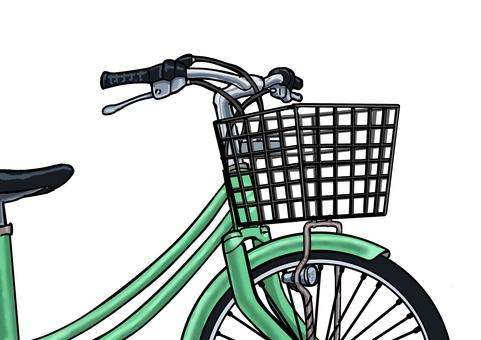 Bicycle illustration 001