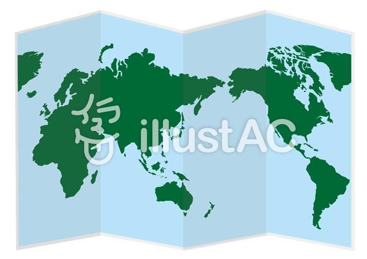 世界地図イラスト No 277714無料イラストならイラストac