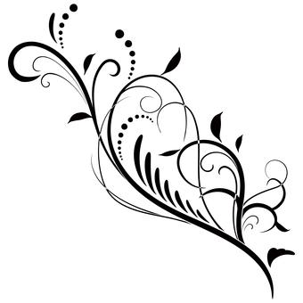 蔓草のフレーム2