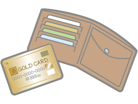 Gold cards and wallets