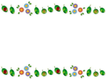 Background - Flower and Ladybird 01