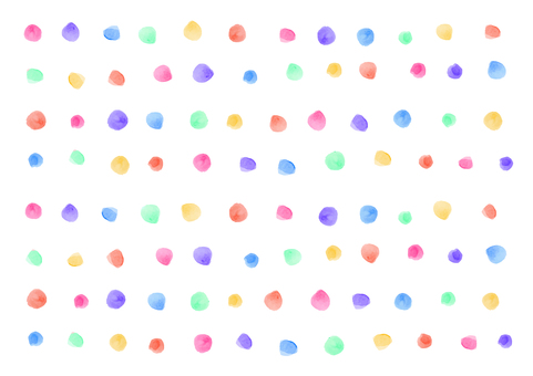 Watercolor material 006 dot background