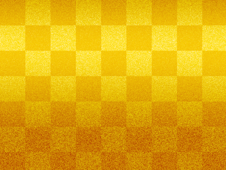 A checkered pattern of gold