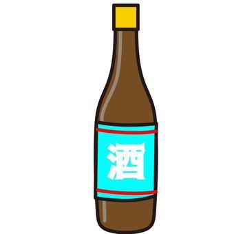 日本清酒瓶