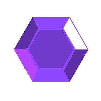 ドロップ 紫