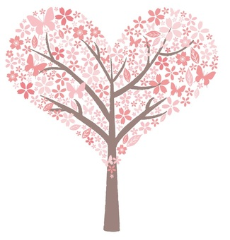 Sakura Heart Tree