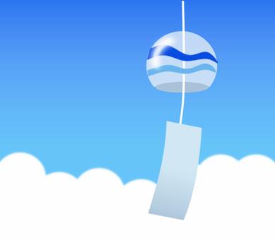 風鈴和夏天的藍天