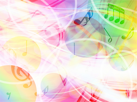 Musical notes background 08