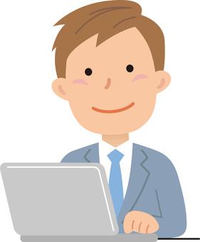 70622. Male employee, upper body 3
