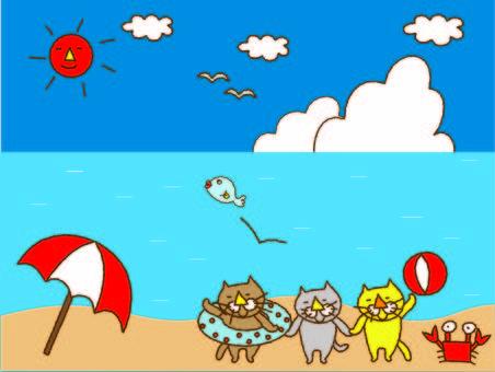 Go to the Cat Trio Sea