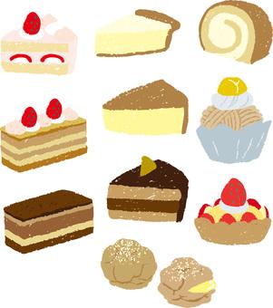Cake summary (no dish)