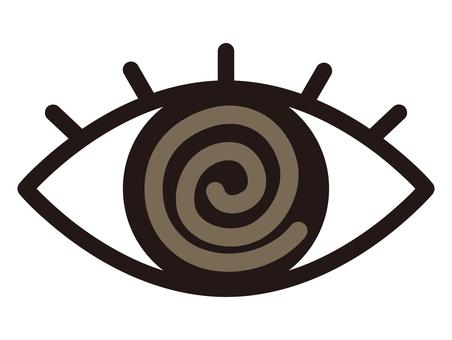 Eye round and eyes