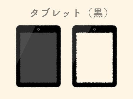 Tablet black