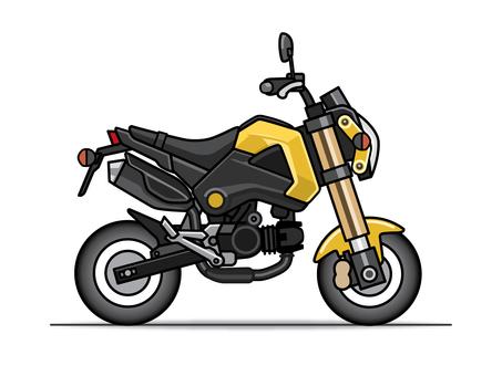 Motorcycle illustration (small)
