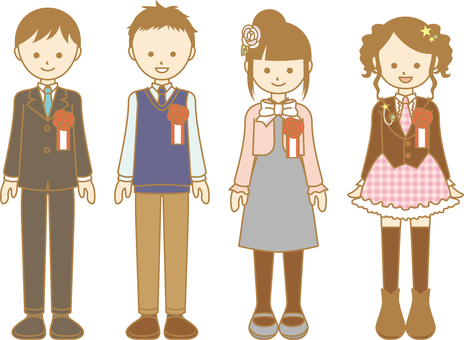 Formal kids