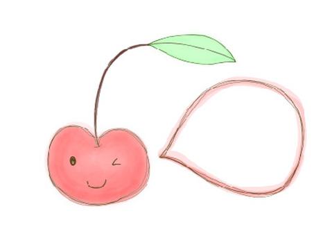 Cherry frame