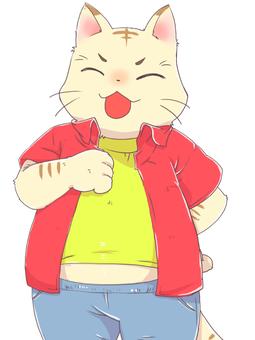 Cat Beastman Standing Picture (Hee)