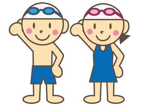 Swimming (men and women)
