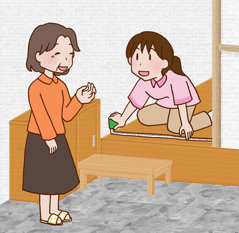 【Rehabilitation】 House investigation / guidance before hospital discharge