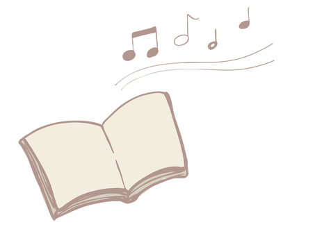 Sheet music and melody