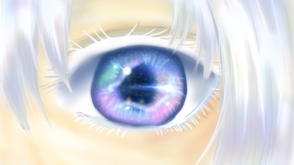 The universe in the pupil