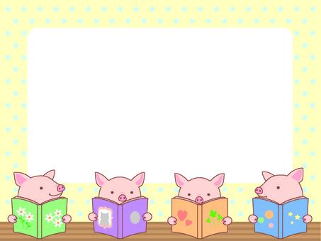Pig's reading frame frame