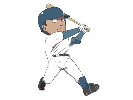 Right batter