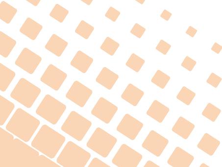 Dot gradation square pink
