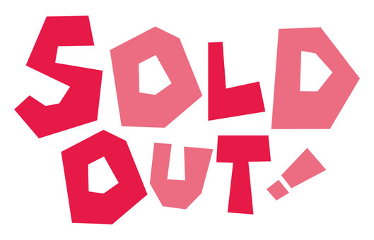 SOLD OUT! Sold Out ☆ Logo ☆